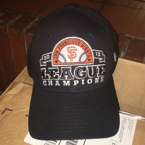 SF giants 2012 WORLD SERIES hat